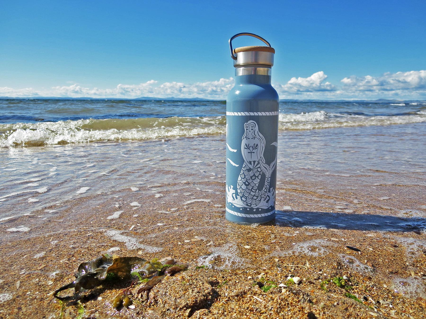 'Mermaid' - reusable water bottle